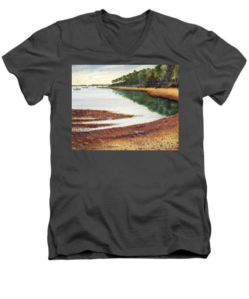 Penobscot Bay Men's V-Neck T-Shirt