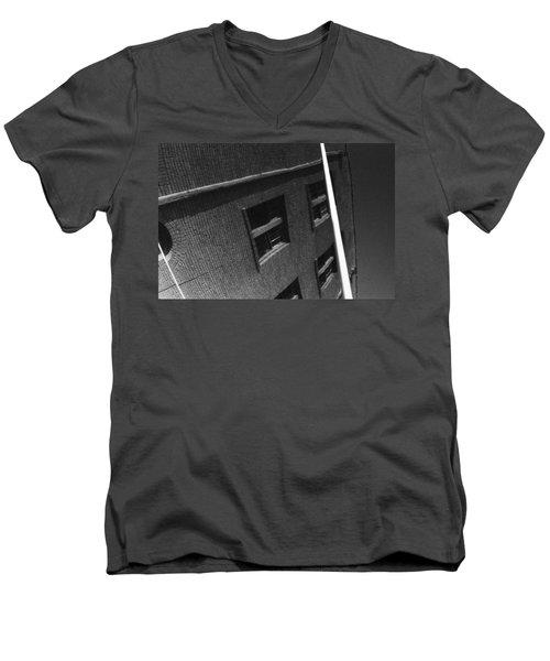 Men's V-Neck T-Shirt featuring the photograph Peoples Home by Steven Macanka
