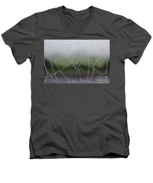 Men's V-Neck T-Shirt featuring the photograph Perfect Circles by Vicki Spindler