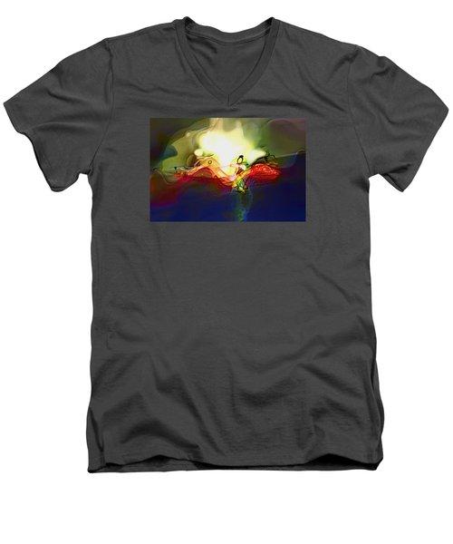 Performance Men's V-Neck T-Shirt by Richard Thomas
