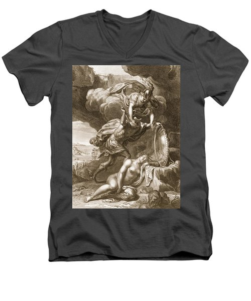 Perseus Cuts Off Medusas Head, 1731 Men's V-Neck T-Shirt