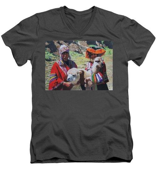 Peruvians Men's V-Neck T-Shirt