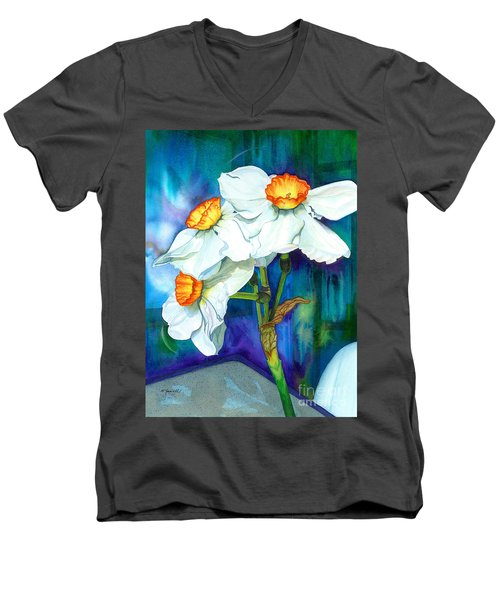 Petal Portrait Men's V-Neck T-Shirt
