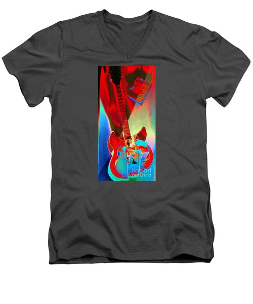 Pete's Guitar Men's V-Neck T-Shirt