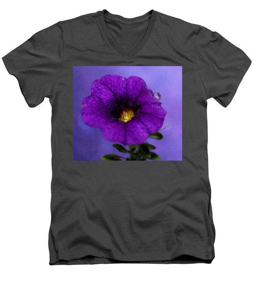 Petunia Dream Men's V-Neck T-Shirt