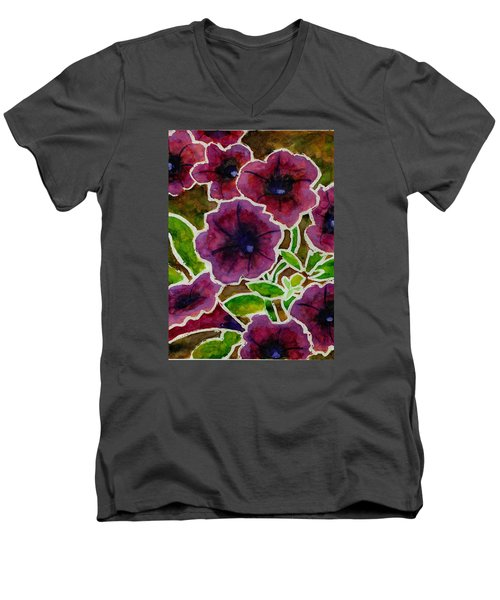 Petunia Men's V-Neck T-Shirt