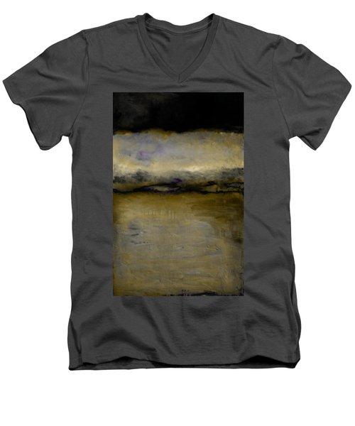 Pewter Skies Men's V-Neck T-Shirt