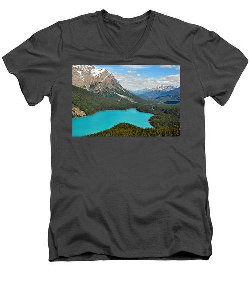 Peyto Lake Men's V-Neck T-Shirt