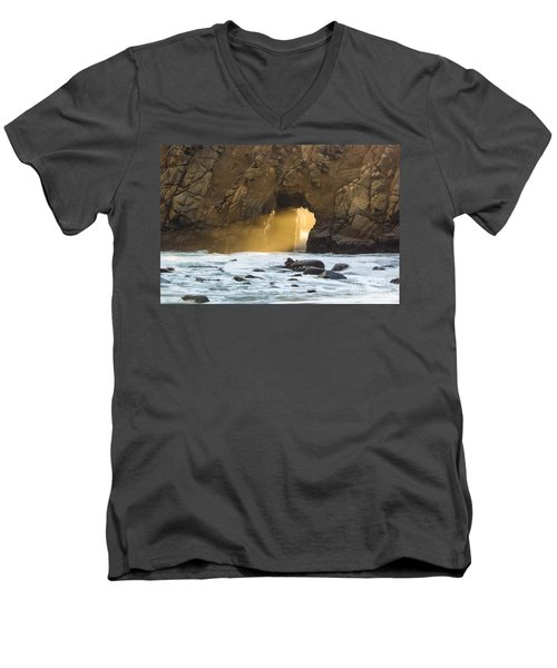 Pfeiffer At Sunset Men's V-Neck T-Shirt