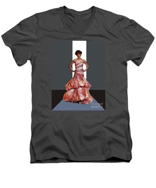 Ms. Phyllis Hyman Men's V-Neck T-Shirt