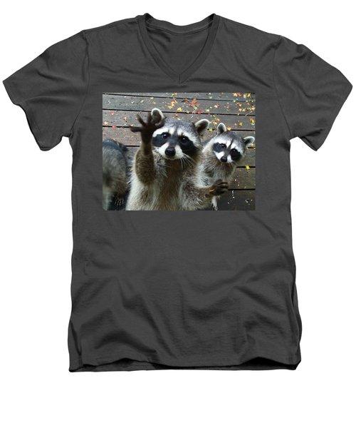 Pick Me I Know The Answer Men's V-Neck T-Shirt
