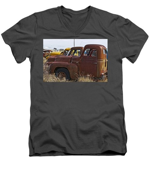 Pickup Cabs 2 Men's V-Neck T-Shirt
