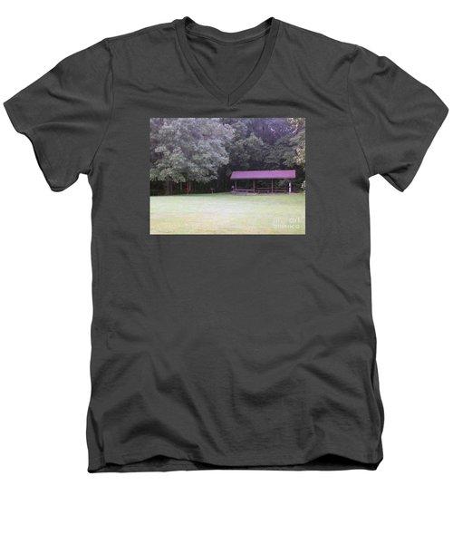 Picnic Shelter Men's V-Neck T-Shirt