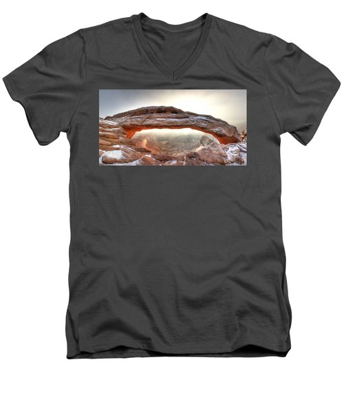 Picture Window Men's V-Neck T-Shirt by David Andersen