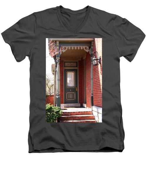 Picturesque Porch Men's V-Neck T-Shirt