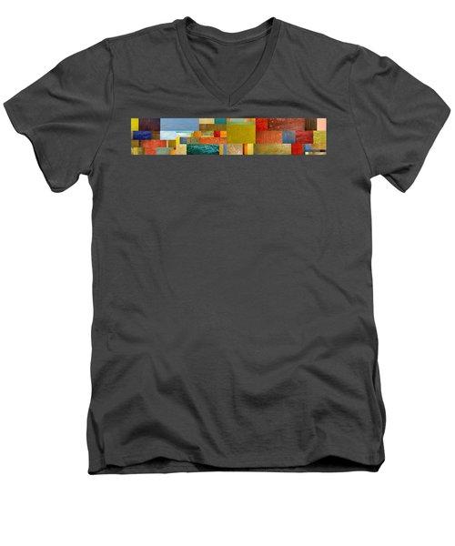 Pieces Project Lv Men's V-Neck T-Shirt