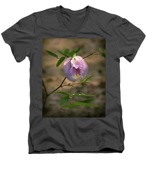Pigeon-wing Men's V-Neck T-Shirt