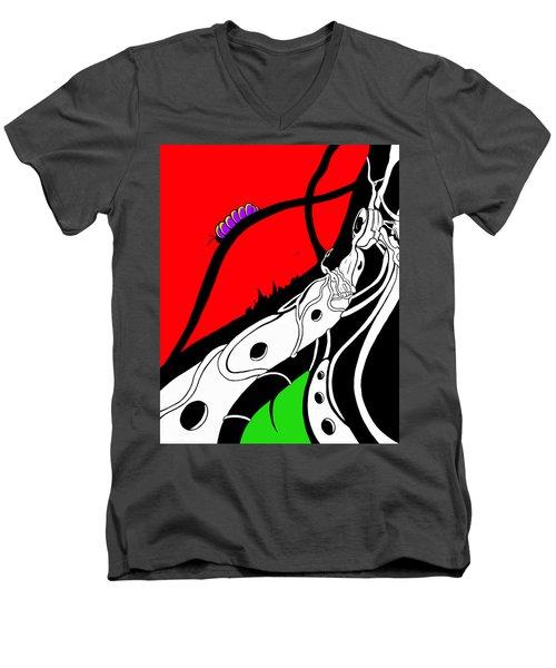 Pillar Of Hope Men's V-Neck T-Shirt