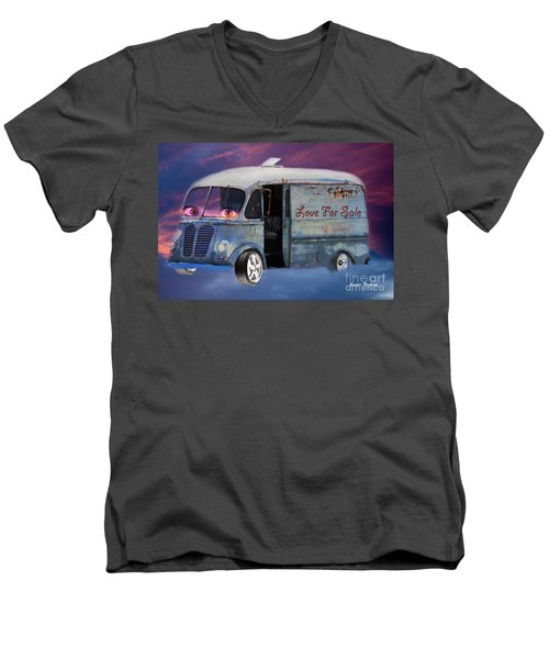 Pin Up Cars - #2 Men's V-Neck T-Shirt