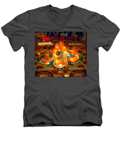 Pinball Wizard Tommy Vintage Men's V-Neck T-Shirt