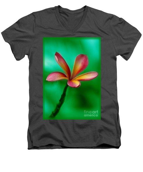 Pink Jasmin Men's V-Neck T-Shirt