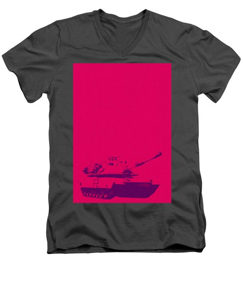 Pink Tank Men's V-Neck T-Shirt