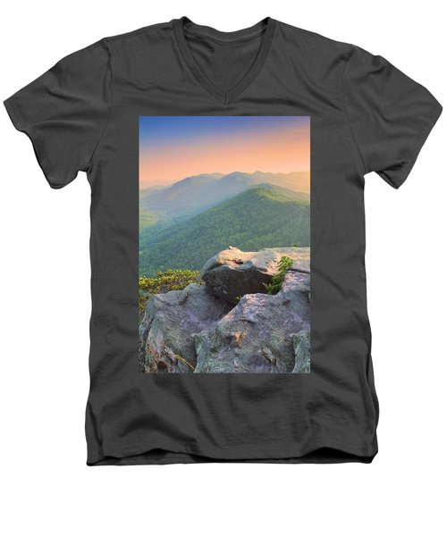 Pinnacle Rock Men's V-Neck T-Shirt