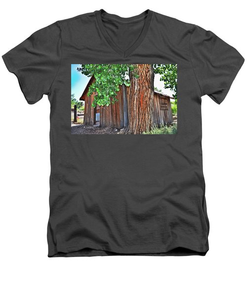 Pioneer Cabin Men's V-Neck T-Shirt