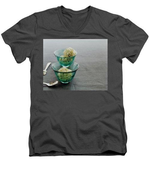 Pistachio Semifreddo Men's V-Neck T-Shirt