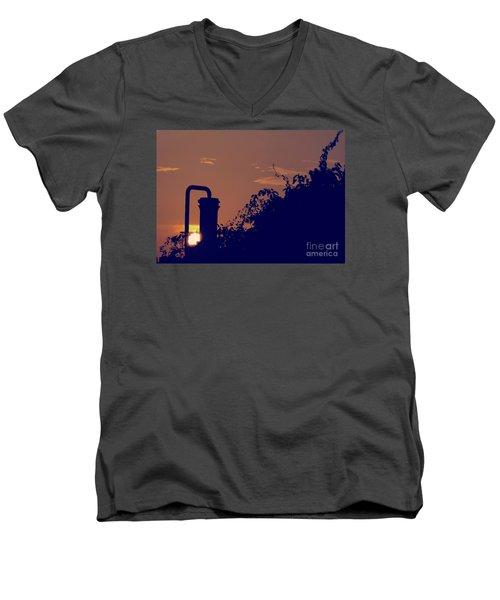 Pittsburgh Sunset  Men's V-Neck T-Shirt