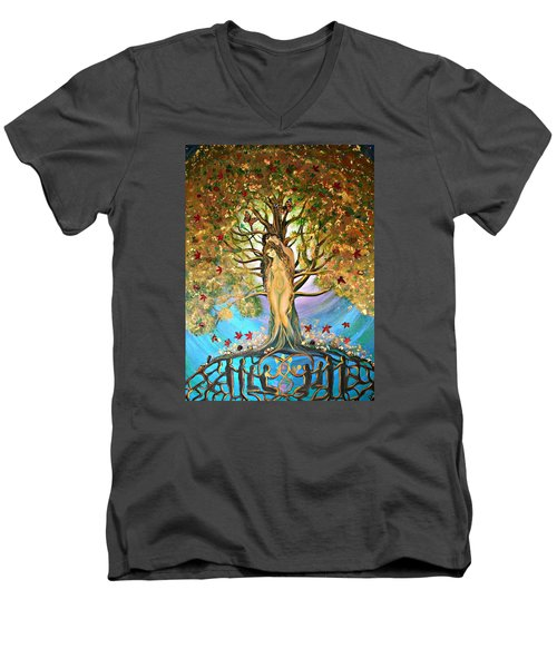 Pixie Forest Men's V-Neck T-Shirt