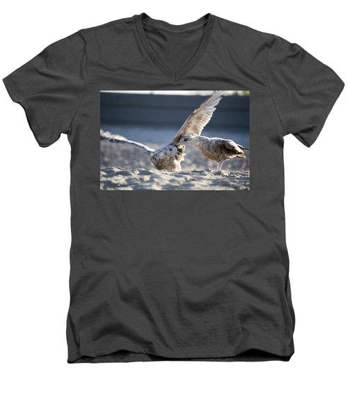 Play Time Men's V-Neck T-Shirt