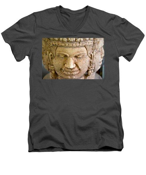 Pleasure Anger Sorrow Joy Men's V-Neck T-Shirt by Lehua Pekelo-Stearns