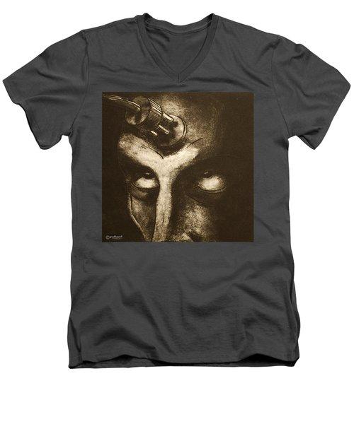 Plug In Men's V-Neck T-Shirt