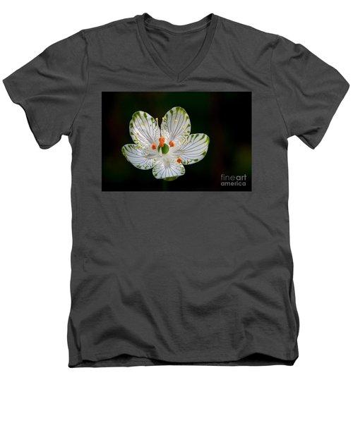 Pocosin Manifest #2 Men's V-Neck T-Shirt by Paul Rebmann