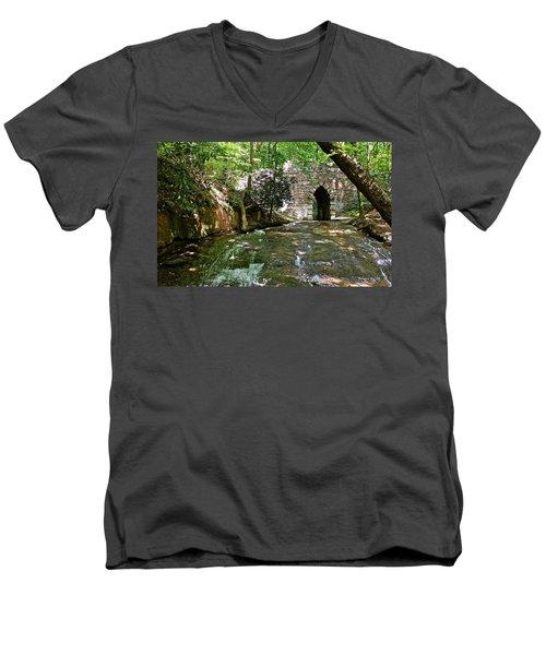 Poinsett Bridge Men's V-Neck T-Shirt