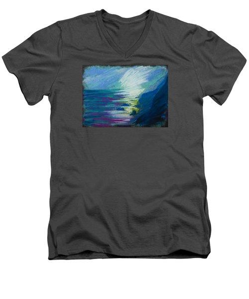 Point Dume Men's V-Neck T-Shirt