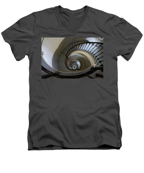 Ponce Stairs Men's V-Neck T-Shirt