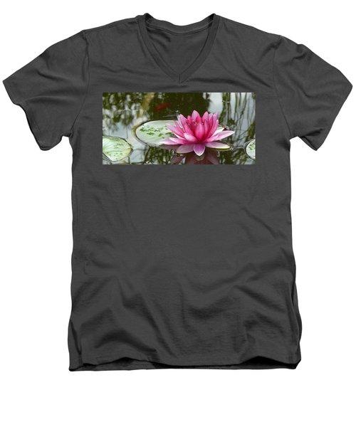 Pond Magic Men's V-Neck T-Shirt
