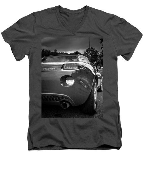 Pontiac Solstice Rear View Men's V-Neck T-Shirt