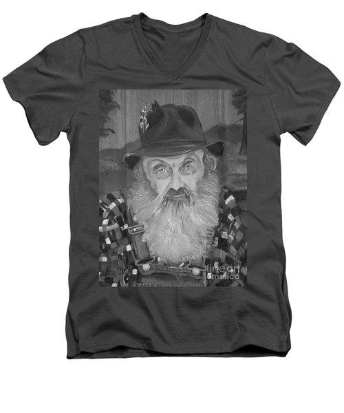 Popcorn Sutton - Jam - Moonshine Men's V-Neck T-Shirt