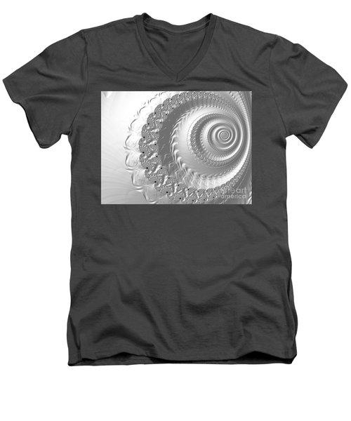 Porcelain Men's V-Neck T-Shirt