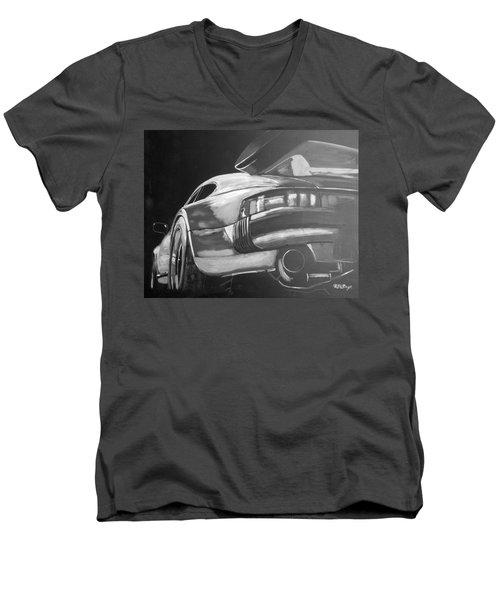 Porsche Turbo Men's V-Neck T-Shirt
