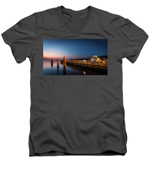 Port Jefferson Men's V-Neck T-Shirt