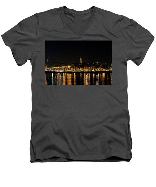 Port Lights Men's V-Neck T-Shirt