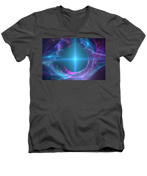 Portal To The Unknown Men's V-Neck T-Shirt