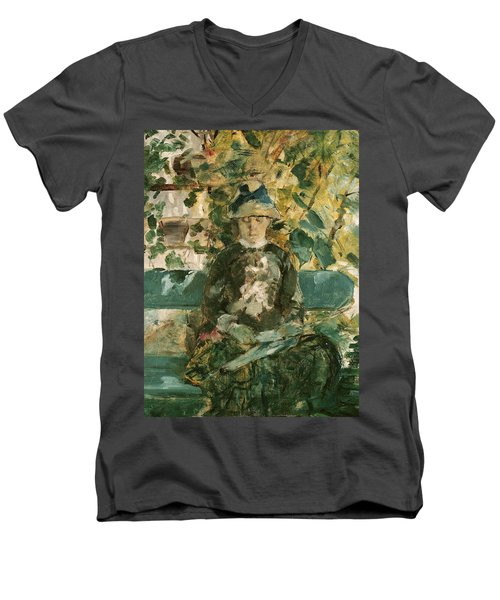 Portrait Of Adele Tapie De Celeyran Men's V-Neck T-Shirt