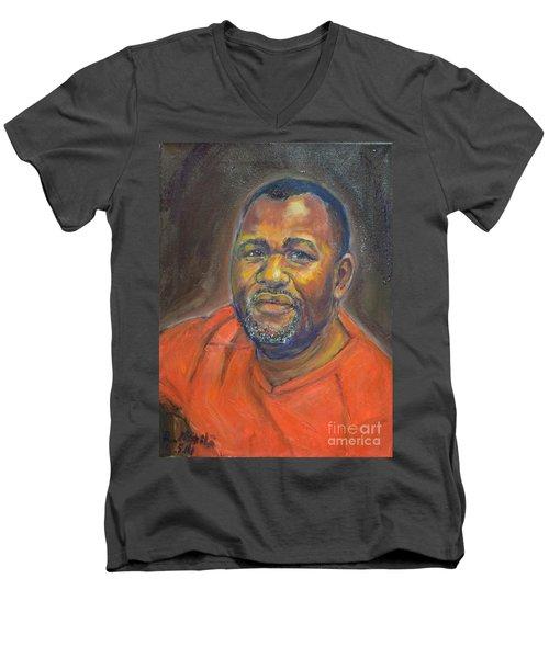 Portrait Of Felly Men's V-Neck T-Shirt