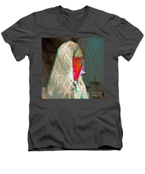 Portrait Of Horror Men's V-Neck T-Shirt
