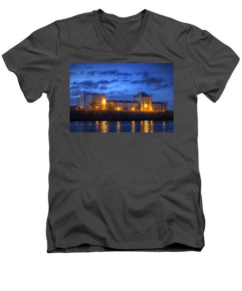 Portsmouth Naval Prison Men's V-Neck T-Shirt